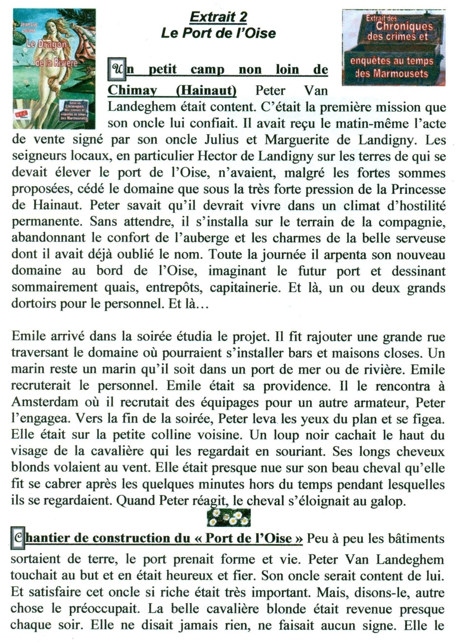 Extrait 2 Le Port de l'Oise dans extraits numerisation0095